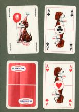 Collectible Advertising playing cards Lexington circa 1950's